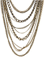 Gypsy SOULE - Gold Multi Metal Multi Strand Necklace