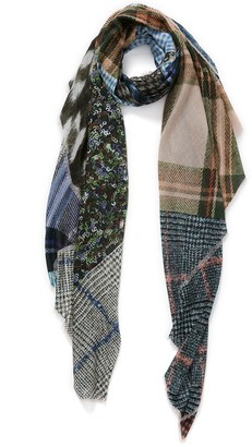 Veronica Beard The Patch Wrap Scarf