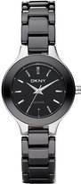 DKNY Watch, Women's Black Ceramic Bracelet NY4887