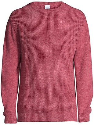 eidos Waffle Knit Cashmere Sweater