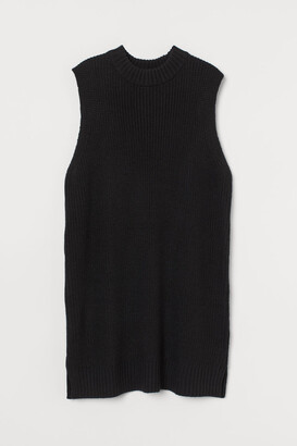 H&M Knitted sweater vest dress