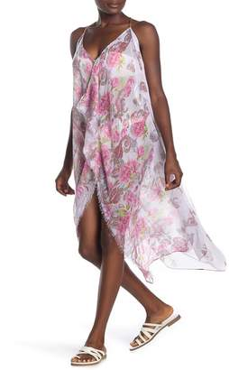 Pool' POOL TO PARTY Floral Print Cover-Up
