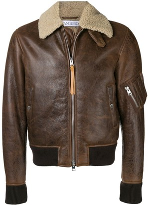 J.W.Anderson shearling collar jacket