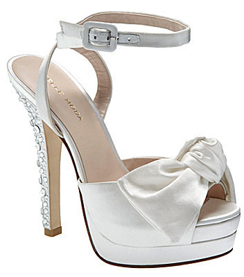 Pelle Moda Gisell Silk Platform Dress Sandals