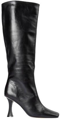 Tony Bianco Cori Black Como Calf Boots