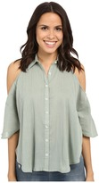 Mara Hoffman Open Shoulder Top
