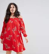 AX Paris plus Floral Swing Dress