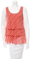 Tory Burch Printed Sleeveless Top