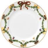 Royal Copenhagen Star Fluted Christmas Dessert Plate
