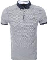Ted Baker Short Sleeved Enders Polo T Shirt Navy