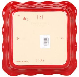 "Emile Henry Classics® Ruffled Square Baker - 9"""