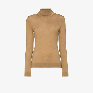 Burberry Two-Tone Roll-Neck Jumper