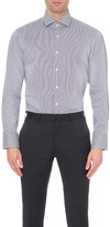 HUGO BOSS Pinstripe cotton shirt