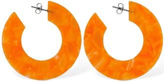 Aym Ananda Large Acetate Hoop Earrings