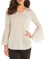 Alex Marie India Bell Sleeve Blouse