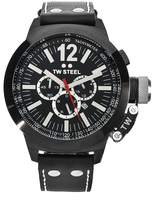 TW Steel Men's CE1034 CEO Canteen Leather Chronograph Dial Watch