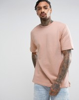Kubban Dusty Pink Short Sleeve Sweater