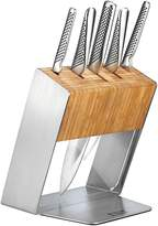 Global Katana 6-Piece Knife Block Set