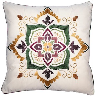 Donna Sharp Spice Postage Stamp UCC Square Decorative Pillow