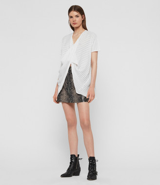 AllSaints Stripe Itat T-Shirt