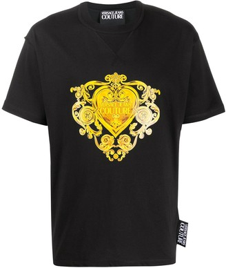 Versace Gold Baroque Jewels print T-shirt