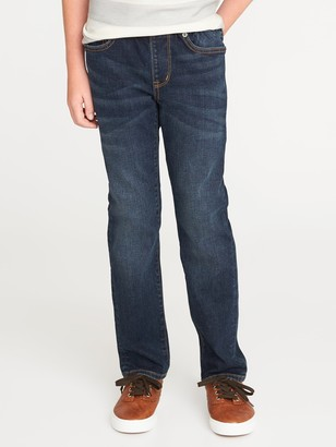 Old Navy Slim Rib-Knit Waist Built-In Flex Max Karate Jeans for Boys