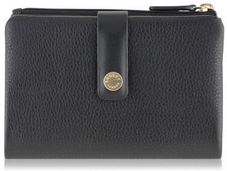 Radley Larks wood medium tab purse