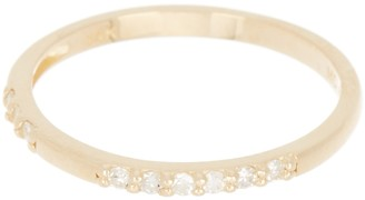 Paige Novick 14K Gold Diamond Ring Band