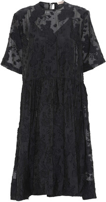 custommade Andrea Dress - Anthracite Black - DK 34 (UK 8)