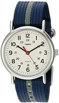 Timex Unisex Special Weekender Slip Through Quartz Watch with Black Dial Analogue Display and Black Nylon Strap TT2N647