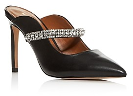 Kurt Geiger Women's Duke Embellished High Heel Mules