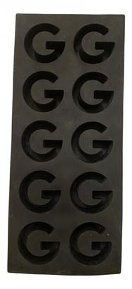 Gucci Black Plastic Dinnerware