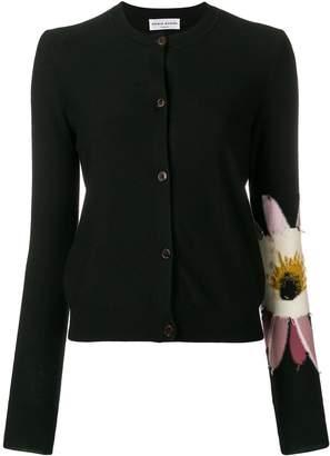 Sonia Rykiel flower sleeve cardigan