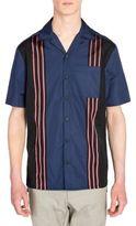 Lanvin Regular-Fit Bowling Woven Shirt