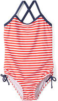 Kanu Surf Red Stripe Bali One-Piece - Toddler & Girls