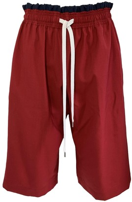 Marni Red Wool Trousers