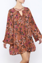 Umgee USA Floral Swing Dress