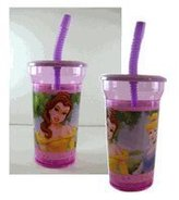 Disney Princess 16 Oz Tumbler with Lid and Straw