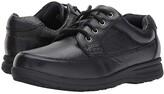Nunn Bush Cam Oxford Casual Walking Shoe (Black Tumbled Leather) Men's Lace up casual Shoes