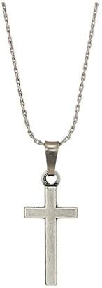 Alex and Ani Cross II 32 Expandable Necklace (Rafaelian Silver) Necklace