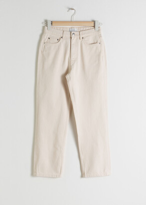 And other stories Straight High Waist Jeans