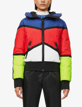 Goldbergh Mondriaan padded recycled-polyester jacket