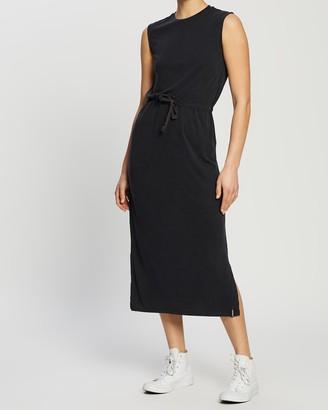 Superdry Desert Drawstring Midi Dress