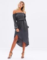Martini Off-Shoulder Dress