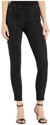 Joe's Jeans Icon Ankle in Black Snake (Black Snake) Women's Jeans