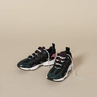 Sandro Sneakers In Mixed Materials
