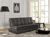 Asstd National Brand Serta Kingsley Faux-Leather Sleeper Sofa