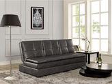Asstd National Brand Serta Kingsley Faux-Leather Sleeper Sofa