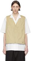 Y-3 Y 3 Khaki Heavy Poplin Workwear Vest