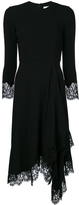 Givenchy Lace Trim Midi Dress